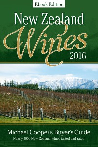 Cover New Zealand Wines 2016 Ebook Edition