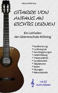Cover Gitarre von Anfang an richtig lernen