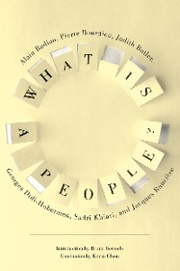 Cover What Is a People?