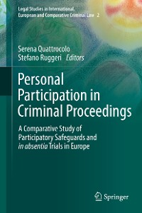 Cover Personal Participation in Criminal Proceedings