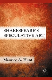 Cover Shakespeare's Speculative Art