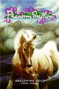 Cover Phantom Stallion: Wild Horse Island #11: Galloping Gold