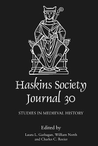 Cover The Haskins Society Journal 30