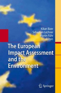 Cover The European Impact Assessment and the Environment