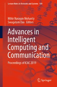 Cover Advances in Intelligent Computing and Communication