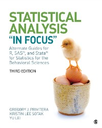 "Cover Statistical Analysis ""In Focus"""