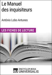Cover Le Manuel des inquisiteurs d'António Lobo Antunes