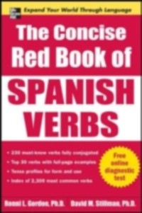 Cover Concise Red Book of Spanish Verbs