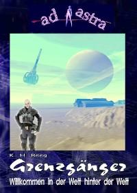 Cover AD ASTRA 005 Buchausgabe: Grenzgänger