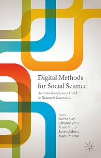 Cover Digital Methods for Social Science