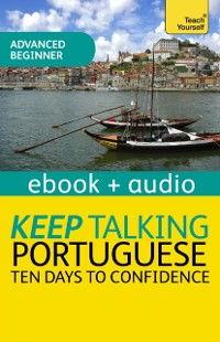 Cover Keep Talking Portuguese Audio Course - Ten Days to Confidence