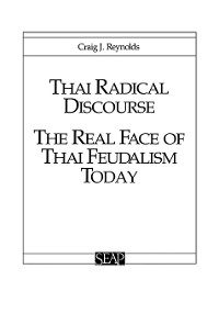 Cover Thai Radical Discourse