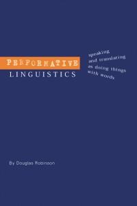 Cover Performative Linguistics
