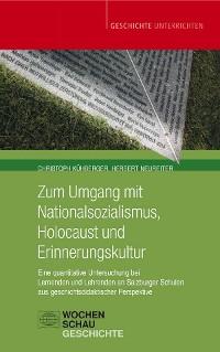 Cover Zum Umgang mit Nationalsozialismus, Holocaust und Erinnerungskultur