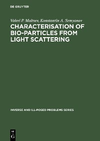 Cover Characterisation of Bio-Particles from Light Scattering