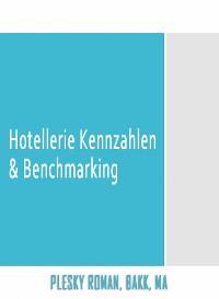 Cover Hotellerie Kennzahlen & Benchmarking