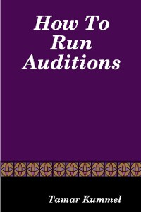 Cover How to Run Auditions