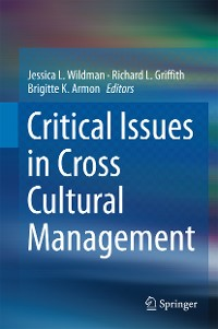 Cover Critical Issues in Cross Cultural Management