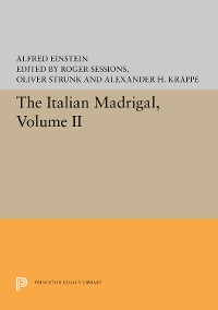 Cover The Italian Madrigal