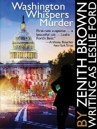 Cover Washington Whispers Murder