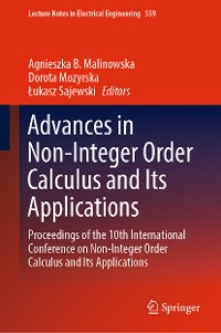Cover Advances in Non-Integer Order Calculus and Its Applications