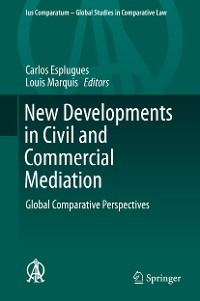 Cover New Developments in Civil and Commercial Mediation