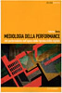 Cover Mediologia della performance