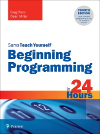 Cover Beginning Programming in 24 Hours, Sams Teach Yourself