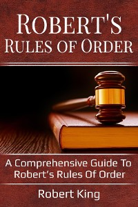 Cover Robert's Rules of Order