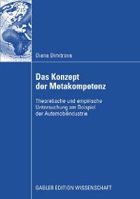 Cover Das Konzept der Metakompetenz
