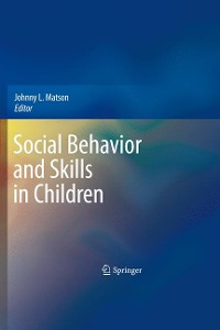 Cover Social Behavior and Skills in Children