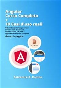 Cover Angular Corso Completo + 10 esempi da casi d'uso reali