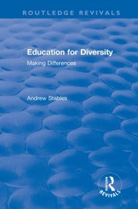 Cover Education for Diversity: Making Differences