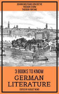 Cover 3 Books To Know German Literature