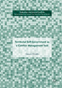 Cover Territorial Self-Government as a Conflict Management Tool