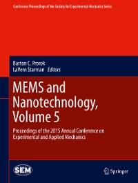 Cover MEMS and Nanotechnology, Volume 5
