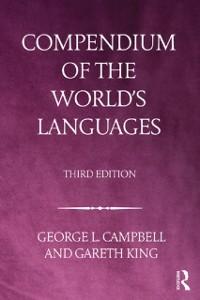 Cover Compendium of the World's Languages