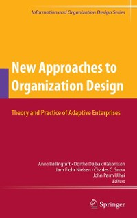 Cover New Approaches to Organization Design
