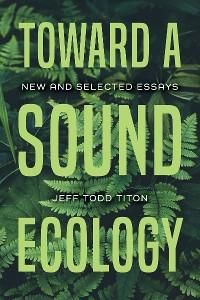 Cover Toward a Sound Ecology