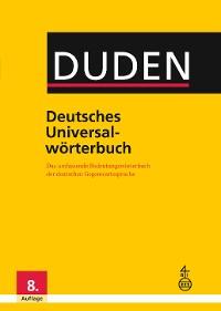 Cover Duden - Deutsches Universalwörterbuch