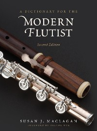 Cover A Dictionary for the Modern Flutist