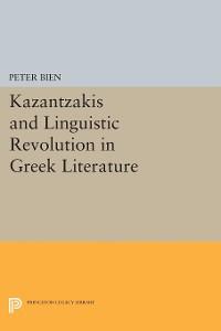 Cover Kazantzakis and Linguistic Revolution in Greek Literature