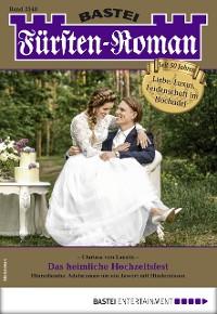 Cover Fürsten-Roman 2548 - Adelsroman