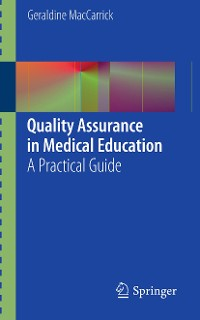 Cover Quality Assurance in Medical Education