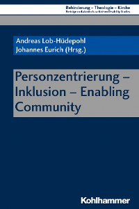 Cover Personzentrierung - Inklusion - Enabling Community