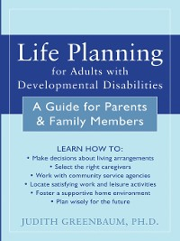 Cover Life Planning for Adults with Developmental Disabilities
