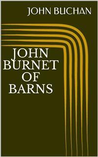 Cover John Burnet of Barns