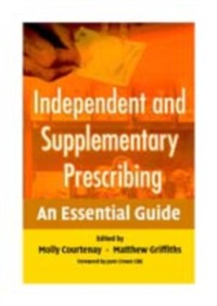 Cover Independent and Supplementary Prescribing