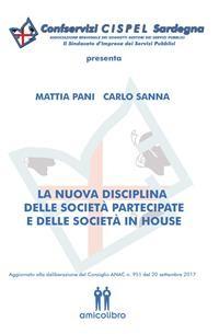 Cover La nuova disciplina delle società partecipate e delle società in house