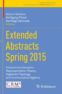 Cover Extended Abstracts Spring 2015